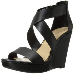 JESSICA SIMPSON JINXXI WEDGE SANDALS